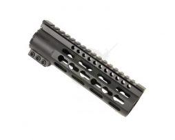 opplanet-guntec-usa-slim-profile-7in-free-floating-keymod-handguard-anodized-black-tph-7-main