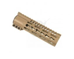 opplanet-guntec-usa-slim-profile-7in-free-floating-keymod-handguard-cerakote-flat-dark-earth-tph-7-fde-main