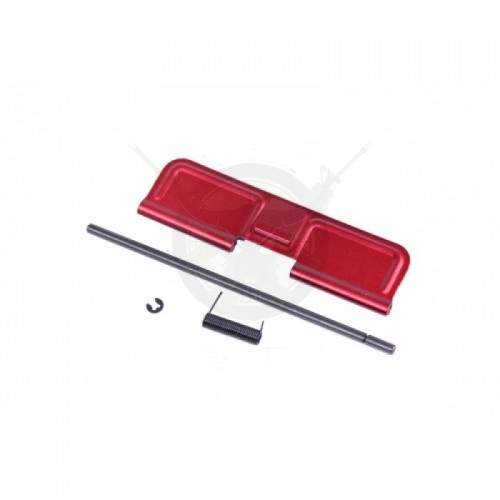 AR15 EJECTION PORT DUST COVER ASSEMBLY RED