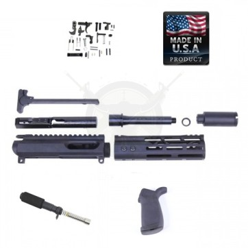 "AR-15 9MM PISTOL KIT WITH 7"" MODLITE M-LOK HANDGUARD"