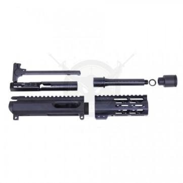 "AR-15 9MM UPPER KIT WITH 5"" AIR-LOK M-LOK HANDGUARD"