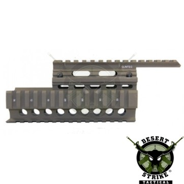 AK-47/AK-74 TWO PIECE QUAD RAIL - OutDoor Green