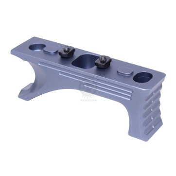ALUMINUM ANGLED GRIP FOR M-LOK SYSTEM GEN 2 ANODIZED GREY