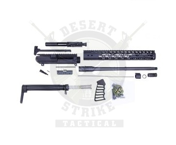 AR .308 CAL COMPLETE RIFLE KIT COMBO #2 (NO LOWER)