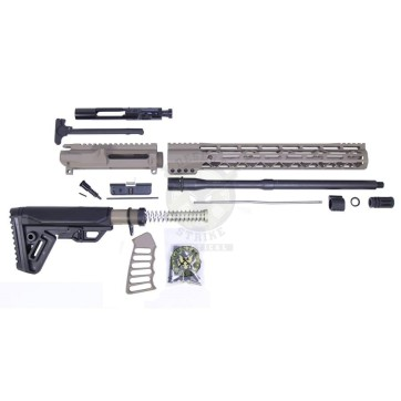 AR-15 5.56 CAL COMPLETE RIFLE KIT #4 FDE