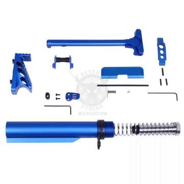 AR-15 ACCESSORY ACCENT KIT (ANODIZED BLUE)
