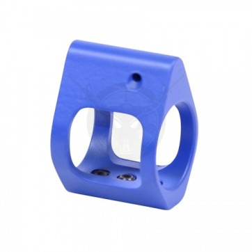 AR15 AIRLITE SKELETONIZED STEEL LOW PROFILE GAS BLOCK BLUE