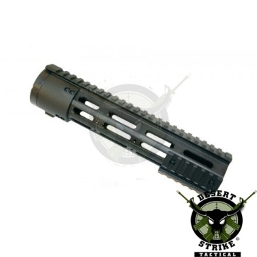 """10"""" Thin Profile Free Floating Handguard With Removable Rails & Monolithic Top Rail (308 Cal)"""