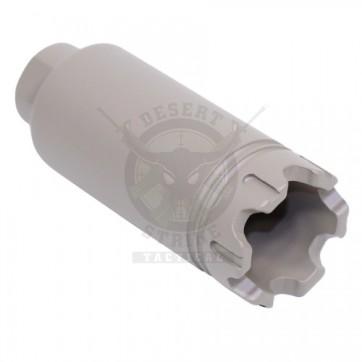 AR-10 .308 CAL SLIM TRIDENT FLASH CAN BREAKER FDE