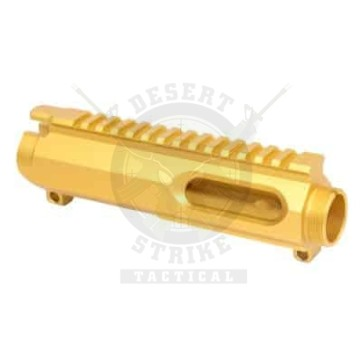 AR-15 9MM DEDICATED STRIPPED BILLET UPPER RECEIVER ANODIZED GOLD