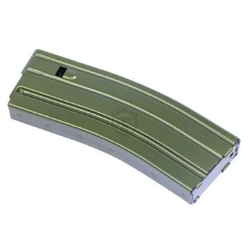 AR 5.56 CAL ALUMINUM 30 RND MAG WITH ANTI-TILT FOLLOWER ANODIZED GREEN