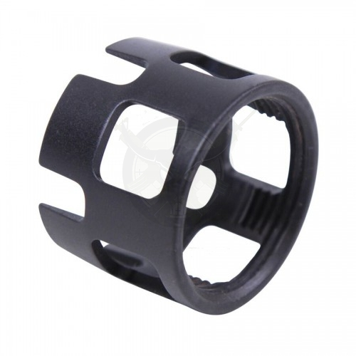 AR15 EXTREME DUTY WIDE CASTLE NUT FOR CAR/M4 BUFFER TUBE
