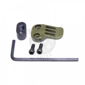 AR-15 308 EXTENDED MAG CATCH PADDLE RELEASE ANODIZED GREEN