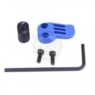 AR-15 308 EXTENDED MAG CATCH PADDLE RELEASE BLUE