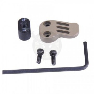 AR-15 308 EXTENDED MAG CATCH PADDLE RELEASE FDE