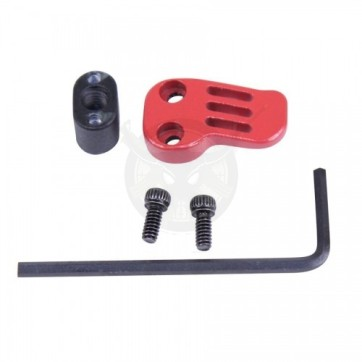AR-15 308 EXTENDED MAG CATCH PADDLE RELEASE RED