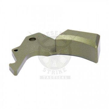 AR15 GEN 5 ERGONOMIC CHARGING HANDLE LATCH GREEN