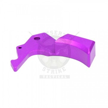 AR15 GEN 5 ERGONOMIC CHARGING HANDLE LATCH PURPLE