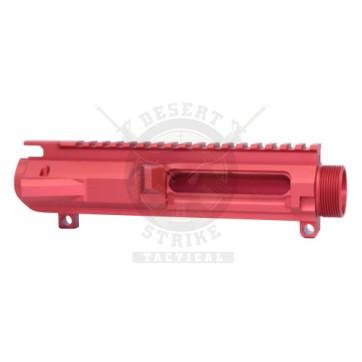 AR .308 STRIPPED BILLET UPPER RECEIVER RED GEN 2