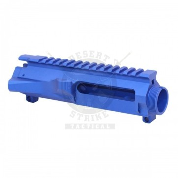 AR-15 STRIPPED BILLET UPPER RECEIVER ANODIZED BLUE