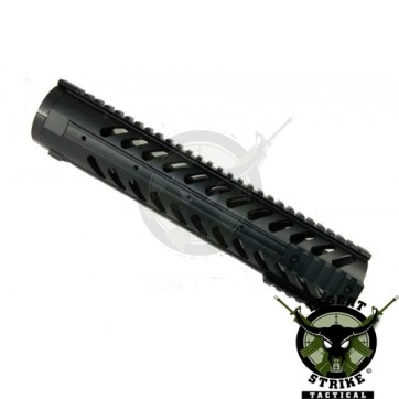 """12"""" Free Floating Handguard With Sectional Side/Bottom Rails (.308 Cal)"""