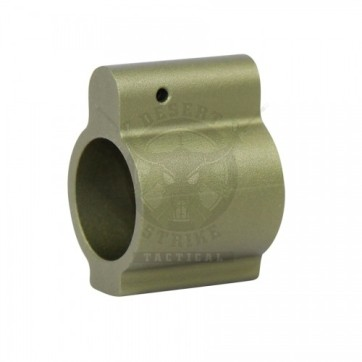 .750 Low Profile Gas Block Green
