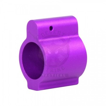 .750 Low Profile Gas Block Purple