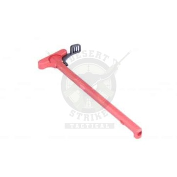 AR15 CHARGING HANDLE WITH GEN 1 LATCH ANODIZED RED