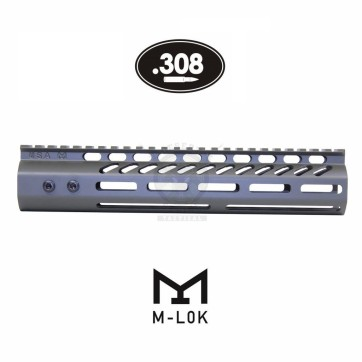 "10"" ULTRA LITE M-LOK FLOAT HANDGUARD .308 OD GREEN"