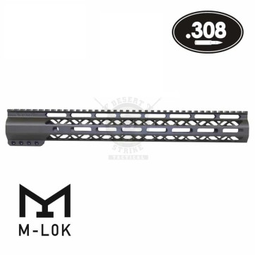 15″ AIR-LOK SERIES M-LOK COMPRESSION FREE FLOAT .308 CAL OD GREEN