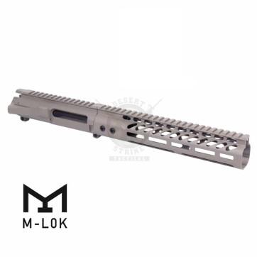 AR-15 STRIPPED BILLET UPPER RECEIVER & 10″ ULTRALIGHT M-LOK HANDGUARD COMBO SET FDE