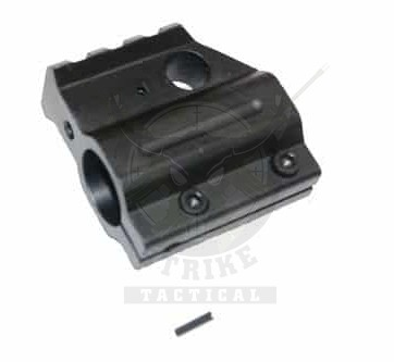 AR-15 CLAMP ON ALUMINUM RAIL HEIGHT GAS BLOCK (GEN 2)