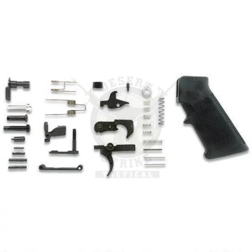 AR .308 COMPLETE LOWER PARTS KIT WITH A2 PISTOL GRIP