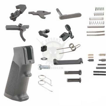AR15 COMPLETE LOWER PARTS KIT WITH A2 PISTOL GRIP