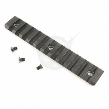 Sectional Rail For Free Floating Handguard With Removable Rail Option (Long Version)