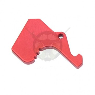 AR15 MIL-SPEC LATCH ANODIZED RED