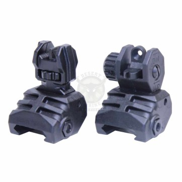 AR-15 TACTICAL POLYMER FOLDING SIGHTS