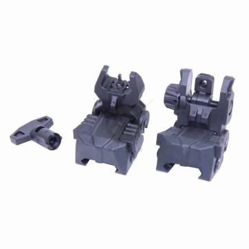 AR-15 TACTICAL POLYMER SPRING ASSISTED FOLDING SIGHTS