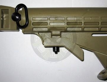AK47 M4 Stock- Outdoor Green
