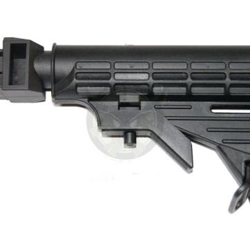 AK47 M4 Stock- Black