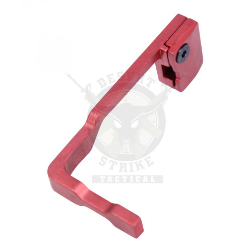 AR15 EXTENDED BOLT CATCH RELEASE ANODIZED RED