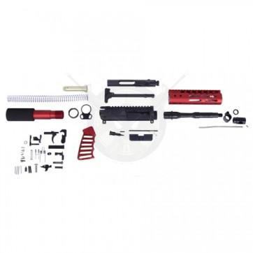 AR-15 5.56 Cal Complete Ultralight Pistol Kit Red