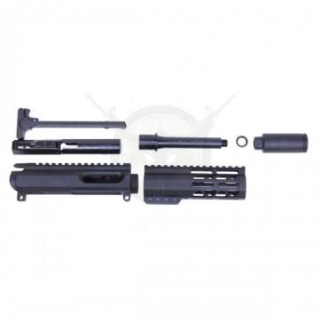 "AR-15 9MM UPPER KIT WITH 6"" AIR-LOK M-LOK HANDGUARD"