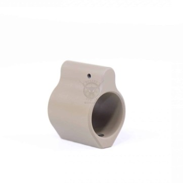 AR15 STEEL LOW PROFILE GAS BLOCK FDE
