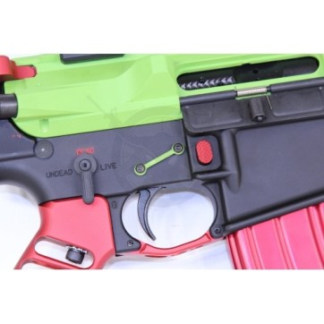 AR15 EXTENDED MAG BUTTON RED