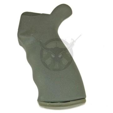 AR15 Rubber Rear Grip - Outdoor Green