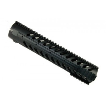"""12"""" Free Float Handguard With Sectional Side/Bottom Rails"""