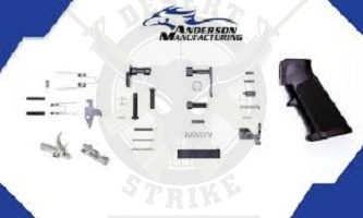ANDERSON MANUFACTURING AR LOWER RECEIVER PARTS KIT W/ SS HAMMER AND TRIGGER LPK