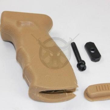 AK47 Rubber Pistol Grip Tan
