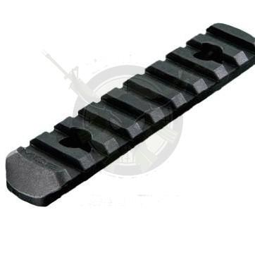 Magpul® MAG408-BLK MOE® Polymer Rail Section L4 9-Slot Black